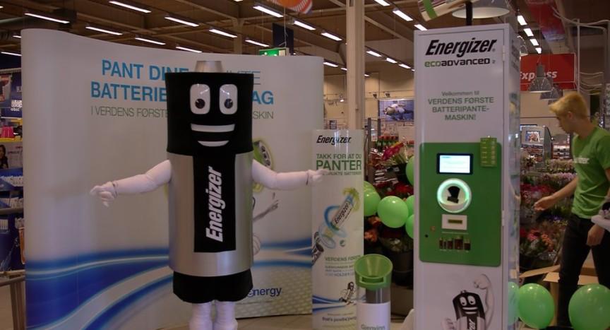 Battery Refund machine