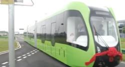 Virtual-Rail Train System