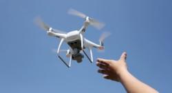 a DJI drone