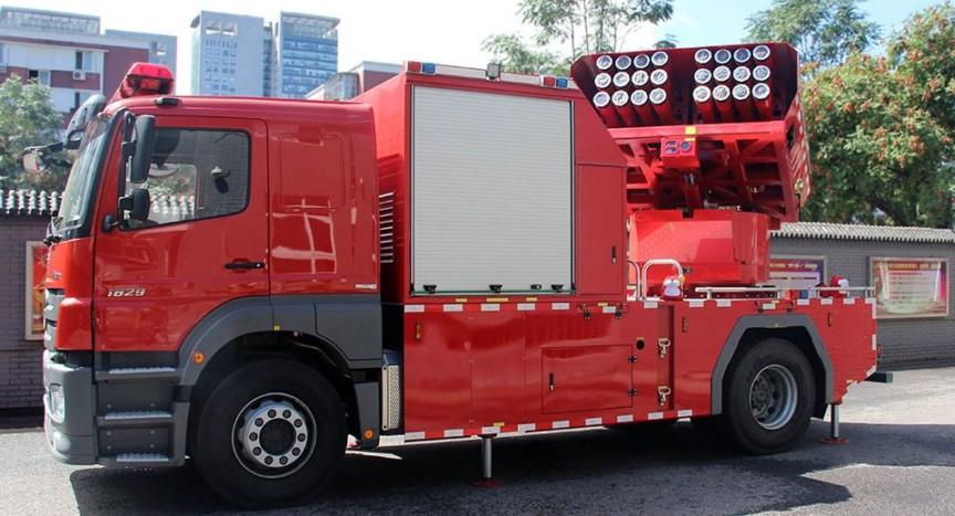 Fire Extinguishing Rocket System