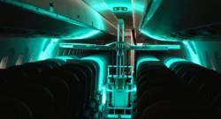 UV light cleaning robot